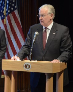 Governor Jay Nixon (photo courtesy; Tim Bommel, Missouri House Communications)