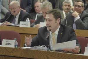 Representative Mike Colona (photo courtesy; Tim Bommel, Missouri House Communications)