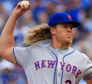 Noah Syndergaard (photo/MLB)
