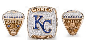 The Royals World Series Championship rings (photo/KCRoyals.com)