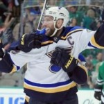 Backes nets overtime winner to tie series a 1-1 with Dallas