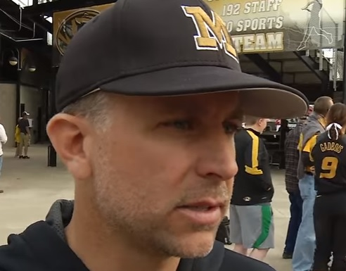 Mizzou softball coach Ehren Earleywine