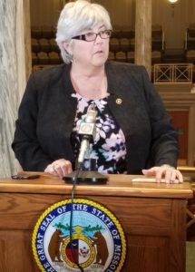 Senator Gina Walsh (photo; Mike Lear, Missourinet)