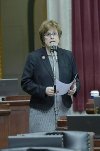 Representative Margo McNeil (photo courtesy; Tim Bommel, Missouri House Communications)
