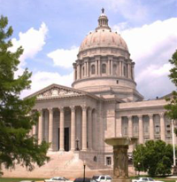 Missouri State Capitol in Jefferson City