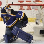 Blues send Brian Elliott to Calgary in trade