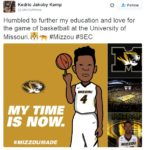 "Newest Mizzou commit tweets he's ""Humbled"" to be coming to Columbia"