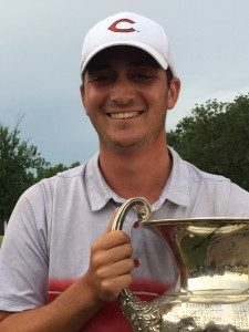 Sam Migdal claimed the 2016 Amateur Championship (photo/MoGolf.org)