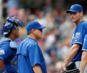 Chris Young and the rest of the Royals rotation had no answers for Cleveland (photo/MLB)
