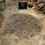 Another view of a pit in which many bottles from around 1900 were found, at the NGA site in North St. Louis.  (photo courtesy; Joe Harl)