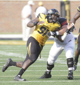 Charles Harris. (photo/Mizzou Athletics)