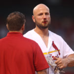 No fractures after Holliday takes pitch to the nose–listed as day-to-day (VIDEO)