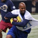 Isaac Bruce and former Rams attract good crowd for final game at the dome