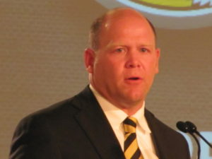 Barry Odom looks to the 2016 season while address the departure of Mack Rhoades