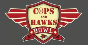 Cops and Hawks flag football is Thursday at 6 p.m.