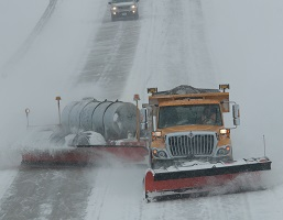 MoDOT tow plow - Photo courtesy of Missouri Dept. of Transportation
