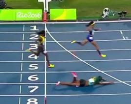Not the way to win a race (NBC Sports screen shot)