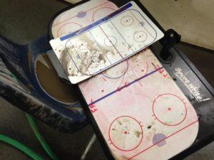 More debris inside the Washington Park Ice Arena in Jefferson City (photo/Bill Pollock)