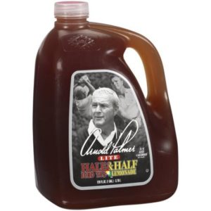 Arnold Palmer--the drink not the golfer, ranks in millions of dollars in each year.