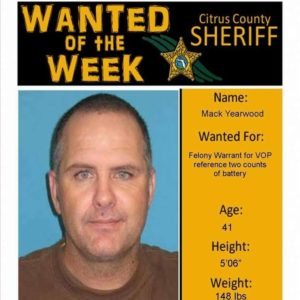 Mack Yearwood thought it would be cool to use a wanted poster as a profile pic...yeah seriously