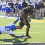 Crockett runs for 156 and four scores, but #Mizzou falls to Middle Tennessee on Homecoming