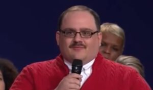 Kenneth Bone...undecided Missouri voter. He had the final question of the debate and he proudly nailed it!