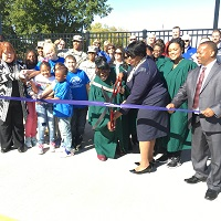 Lafayette Street Interchange Hwy. 59 Ribbon Cutting 10-21-16