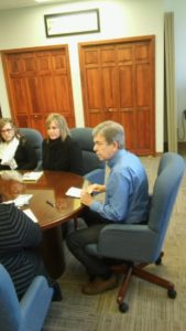 Missouri Senator Roy Blunt hosted a drug free youth forum on October 21, 2016 in Jefferson City