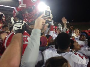Kirkwood celebrates their Class 6 championship