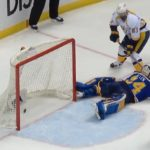 "#STLBlues third period rally falls short. Allen ""A little mistake by me cost us."""