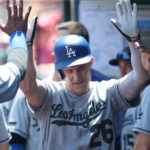 Leake gets lit up as Dodgers take Memorial Day opener