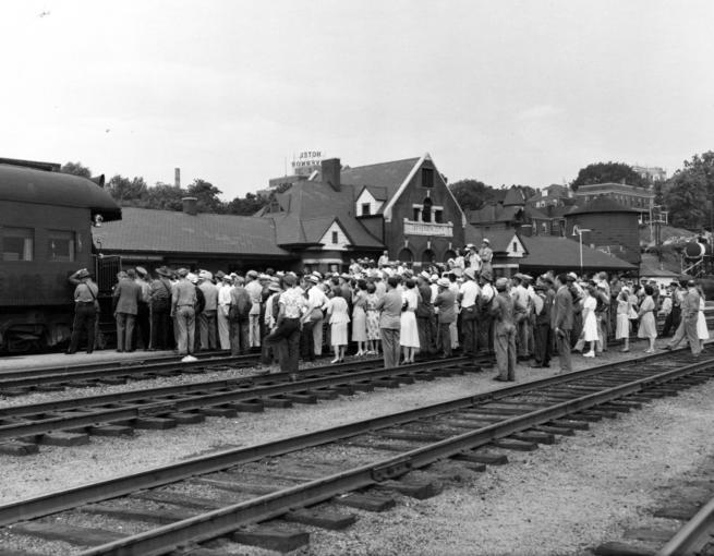 Truman in Jefferson City 1948