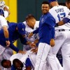 Royals slide hits seven after Toronto's DH sweep