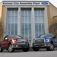 Amid work stoppage in missouri ford proclaims dominance for Ford motor company kansas city mo