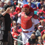 Yadier Molina needs surgery. Cards out of contention for Bryce Harper?