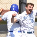 Division I baseball tournament recaps.  Bears rally, SLU wins, SEMO roughed up