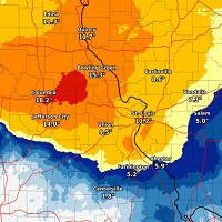 Winter storm leaves double digit snowfall totals, 3rd