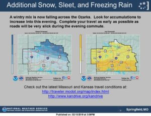 Winter Weather Has Been Deadly In Missouri I 70 In Concordia Has