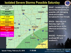 Northwest Missouri Map.Southeast Missouri Could See Severe Weather Saturday Snow Expected