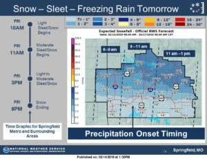 Winter Weather Advisories Issued For Much Of Missouri Kansas City