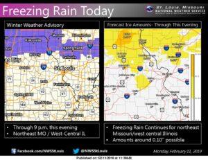 AUDIO) North Missouri under winter weather advisory