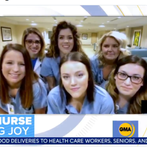 Group of Missouri nurses busting out their dance moves